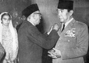 KH A Badawi & Soekarno